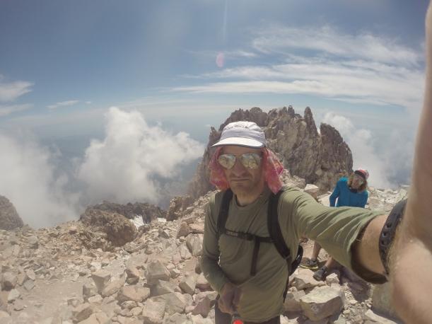 Mountain Running Mount Shasta